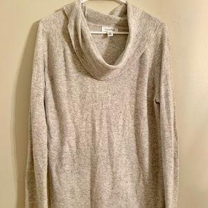 Calvin Klein Grey Cowl Neck Sweater Size L